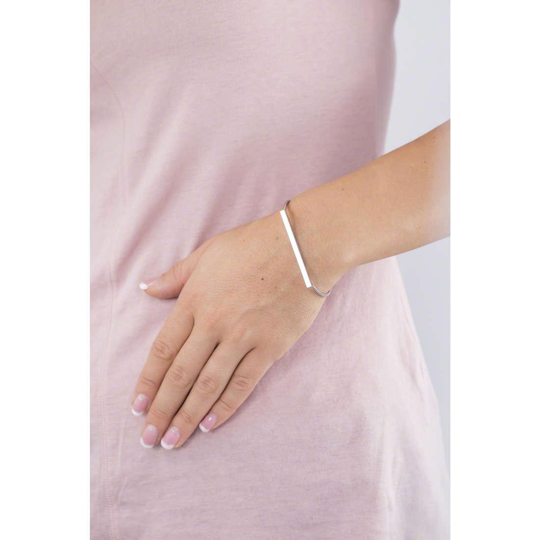 Skagen bracelets woman SKJ0901040 indosso