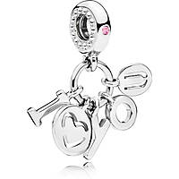 charm woman jewellery Pandora I Love You 796596fpc