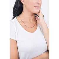 collana donna gioielli Amen Rosari CRORA3