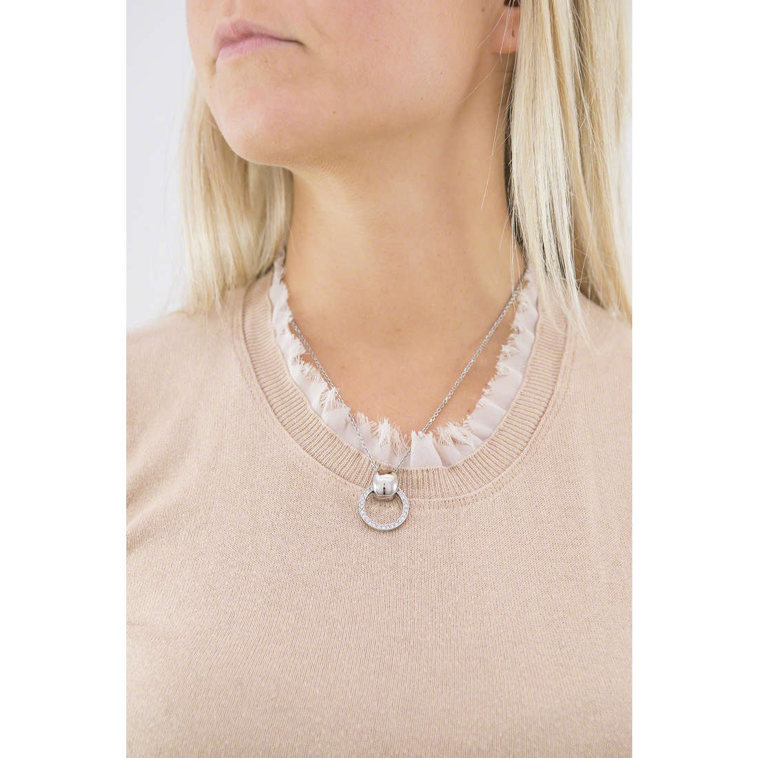 Breil collane Breilogy donna TJ1684 indosso