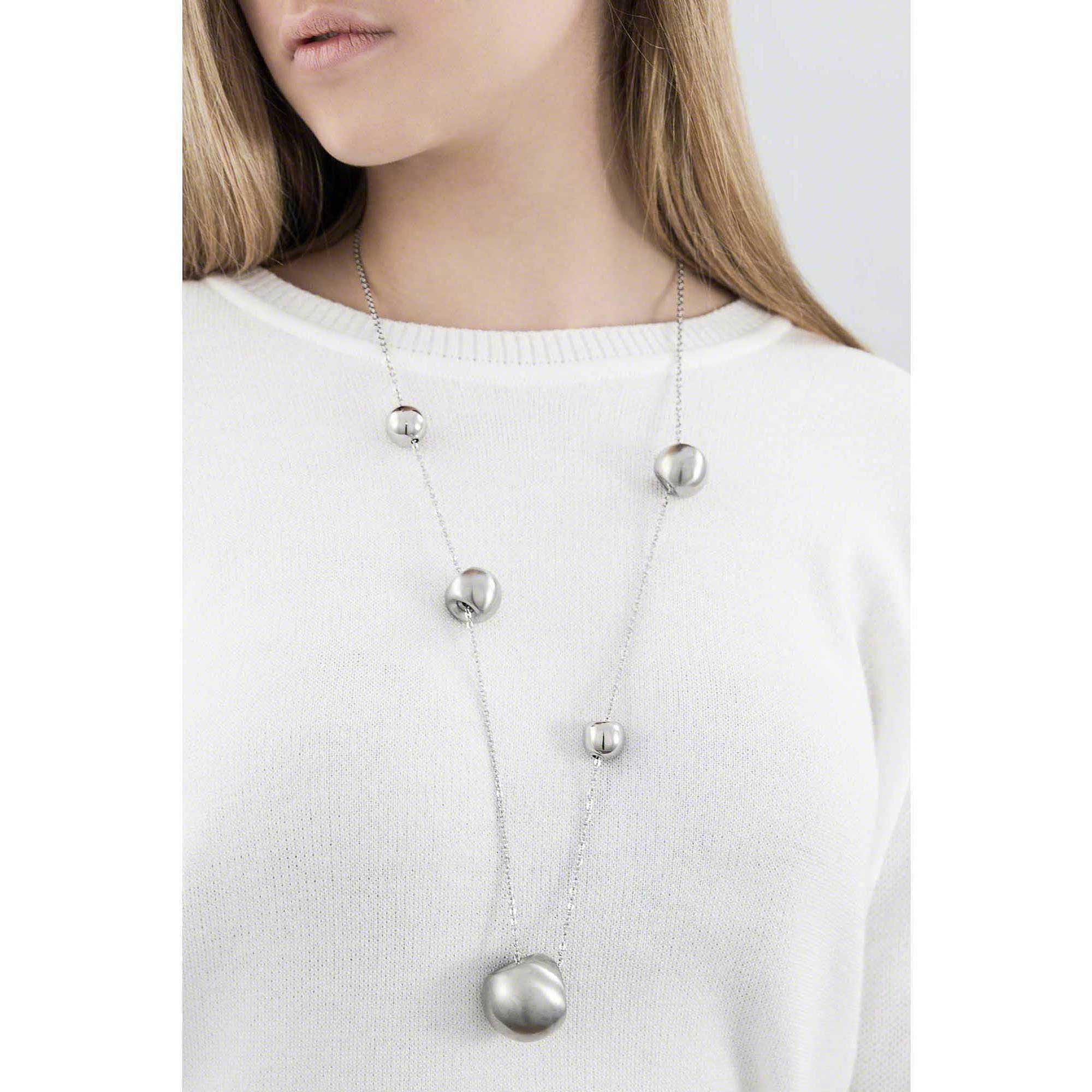 metà fuori 99ed5 82415 collana donna gioielli Breil Chaos TJ0913 collane Breil