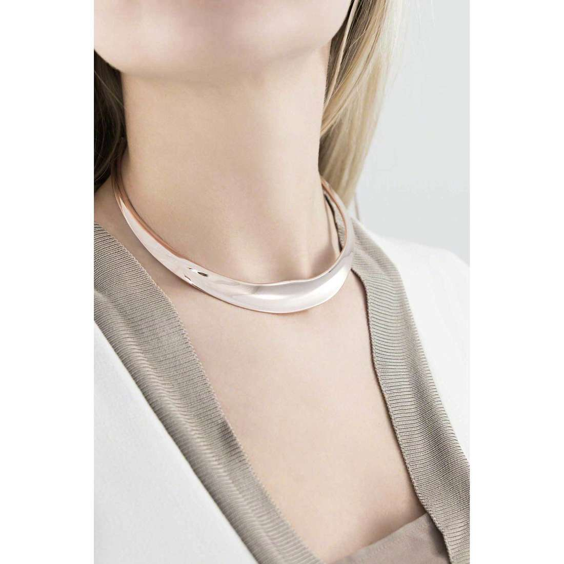 Breil collane Liquid donna TJ1876 indosso