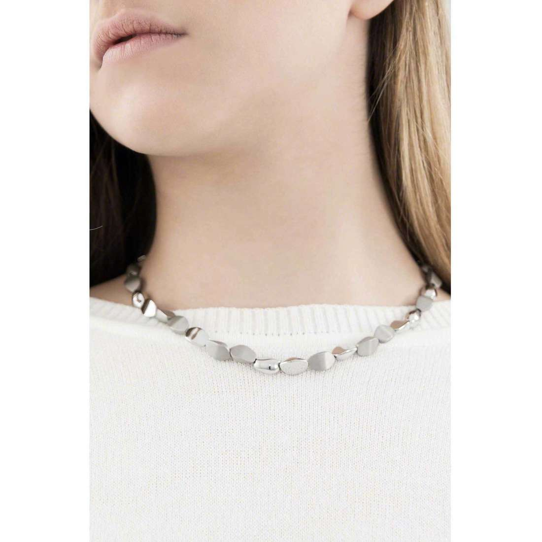 Breil collane Seeds donna TJ1514 indosso