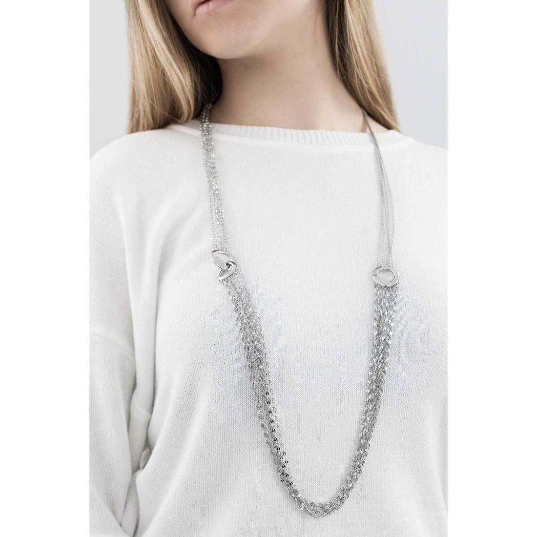 Breil collane SkyFall donna TJ1411 indosso