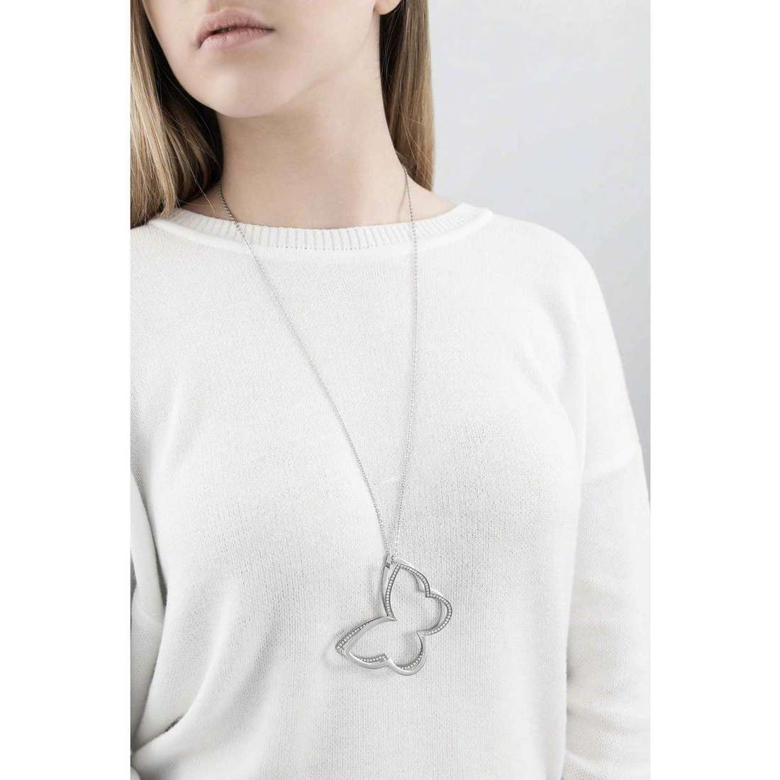 Brosway collane Frame donna BFM01 indosso