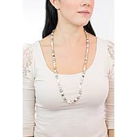collana donna gioielli Comete Fantasie di perle FBQ 117