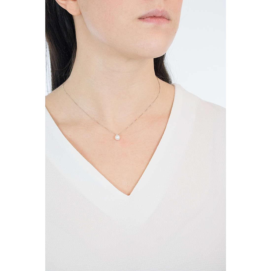 Comete collane donna GLP 442 indosso