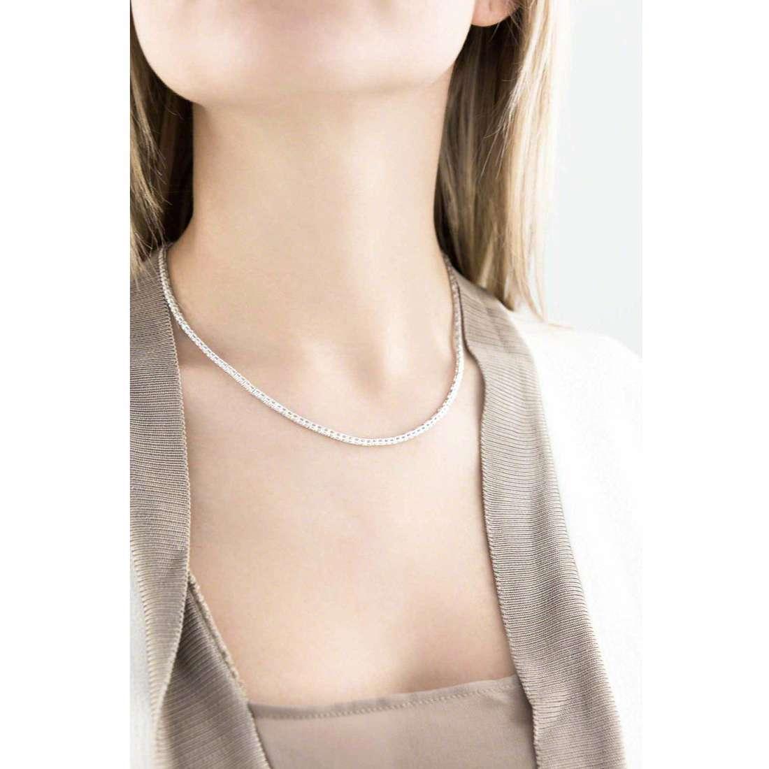 GioiaPura collane donna 25014-01-45 indosso