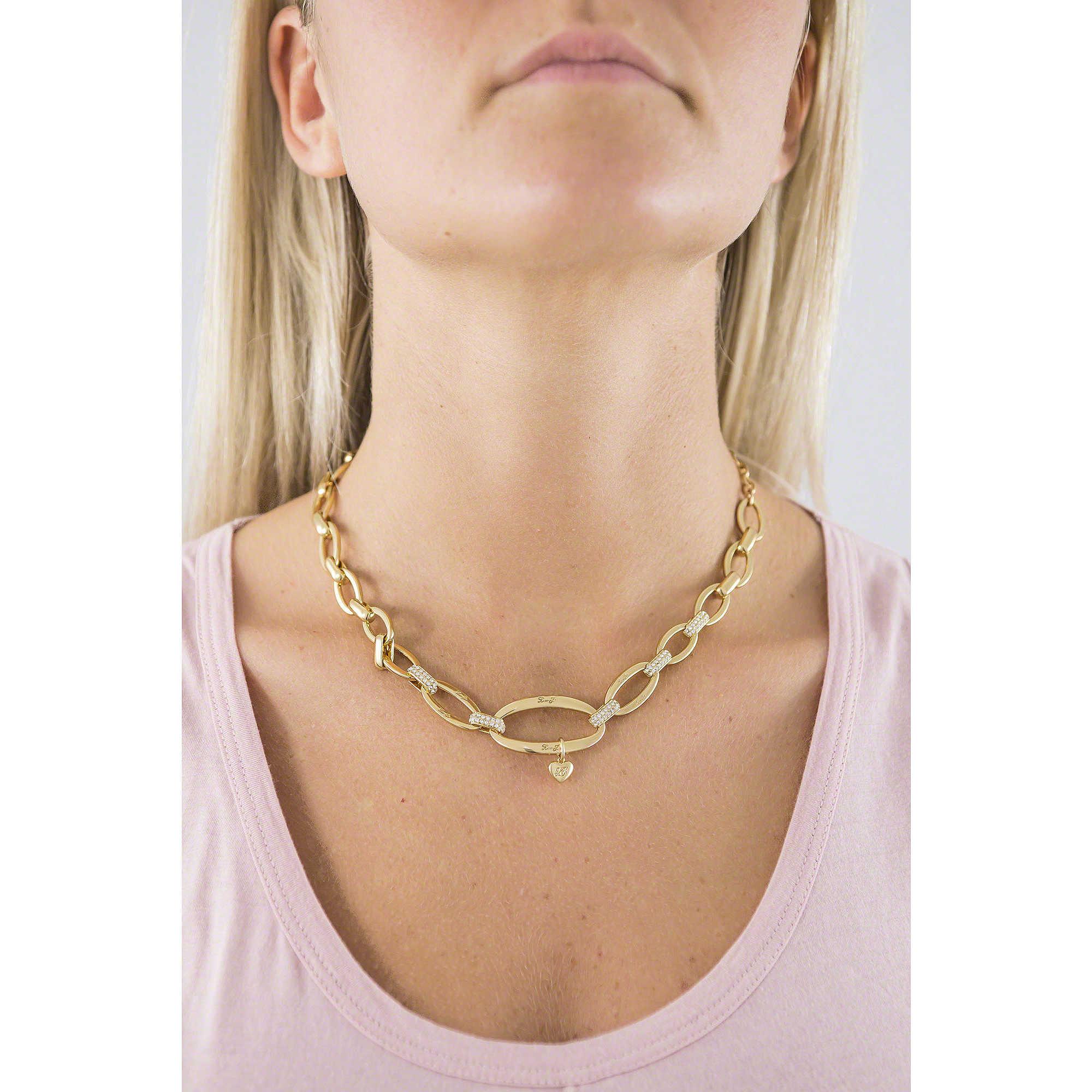 collana donna gioielli Liujo Brass LJ832. zoom. Liujo collane Dolceamara  donna LJ832 indosso. zoom 9b6dea1a8f4