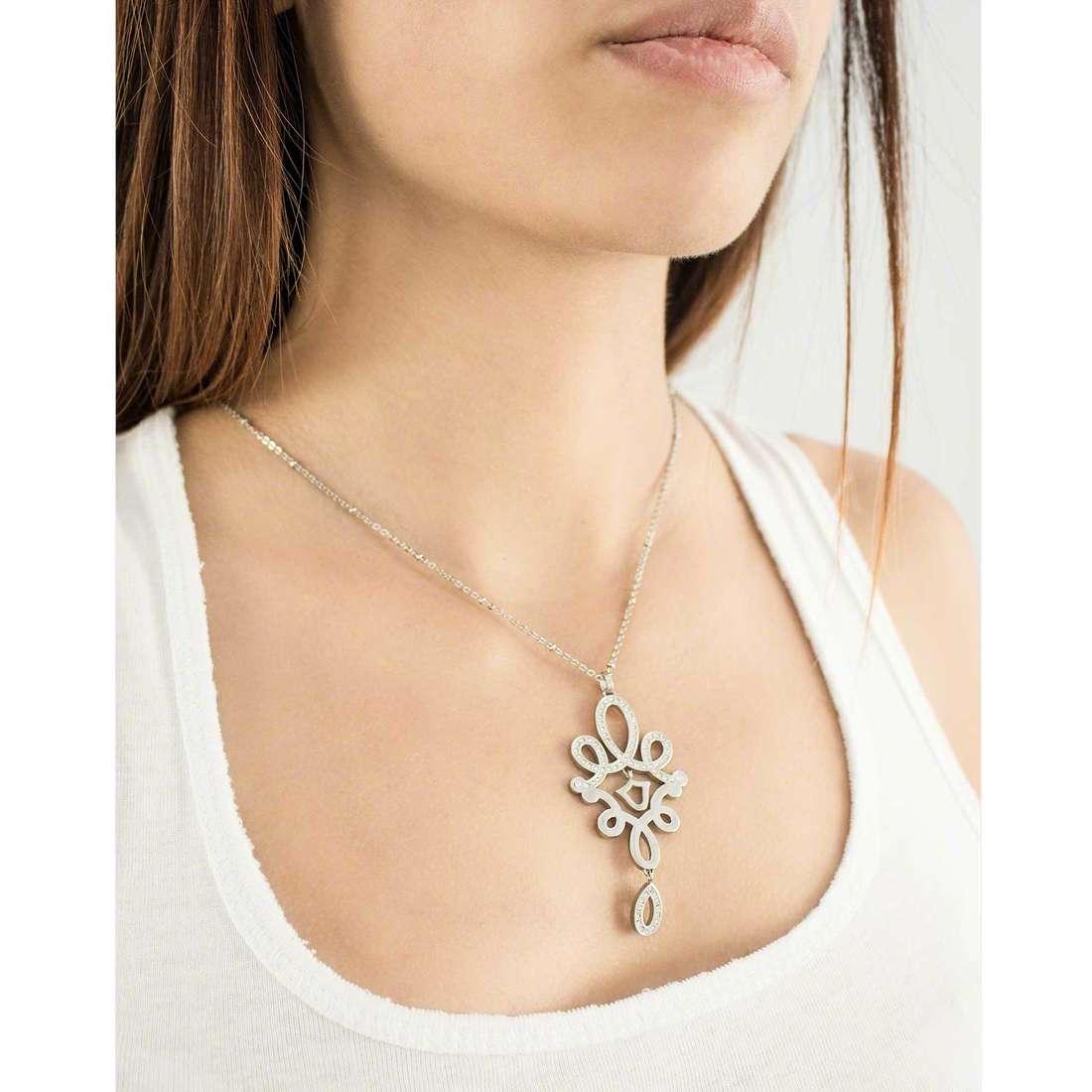 Morellato collane Arabesco donna SAAJ18 indosso