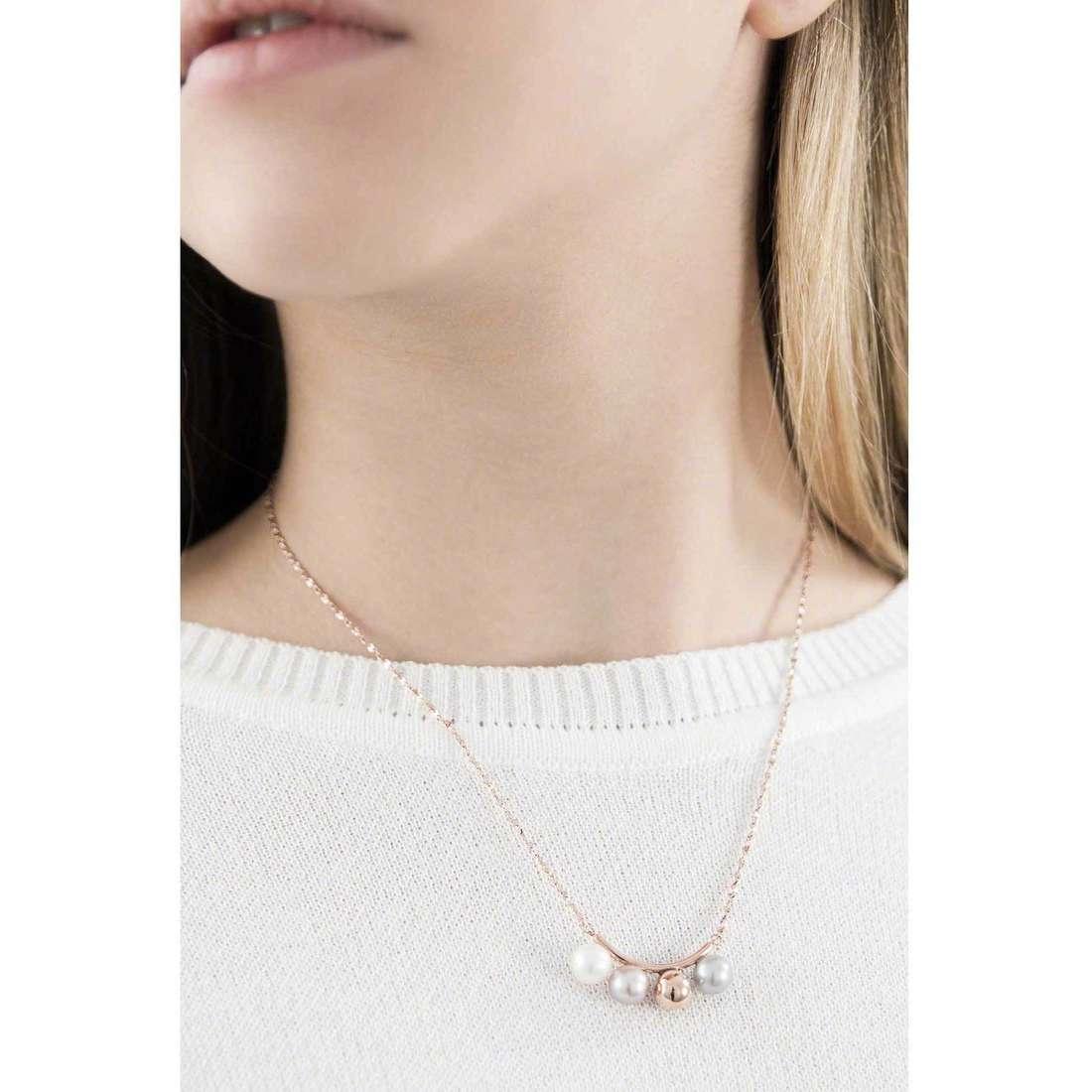 Morellato collane Lunae donna SADX01 indosso