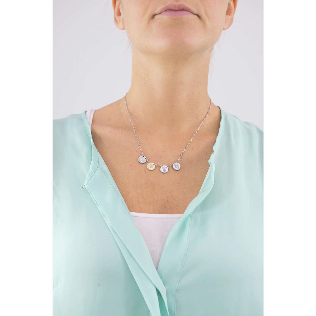 Morellato collane Monetine donna SAHQ01 indosso