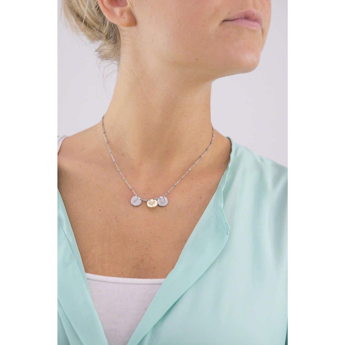 Morellato collane Monetine donna SAHQ02 indosso