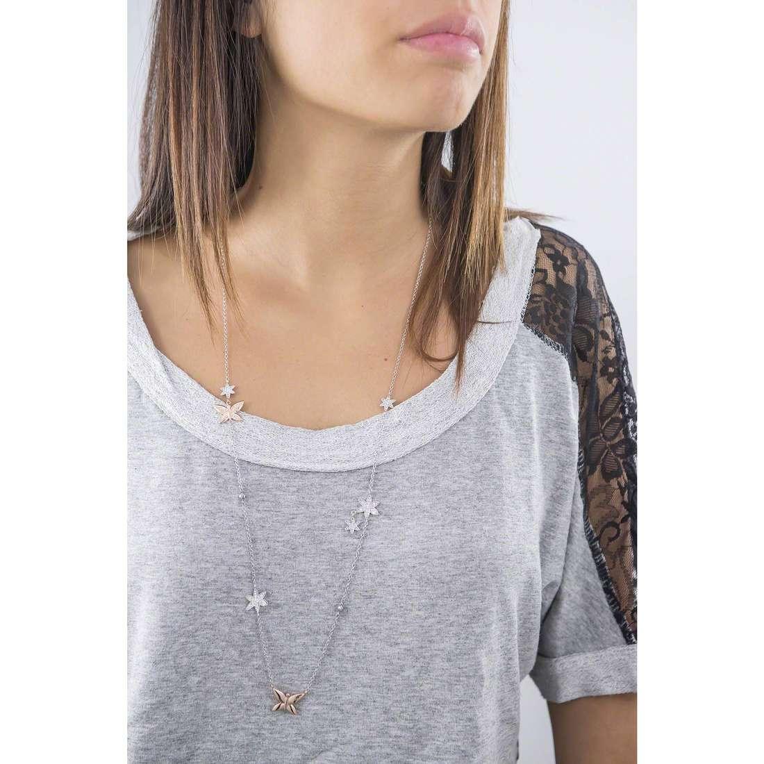 Morellato collane Natura donna SAHL01 indosso