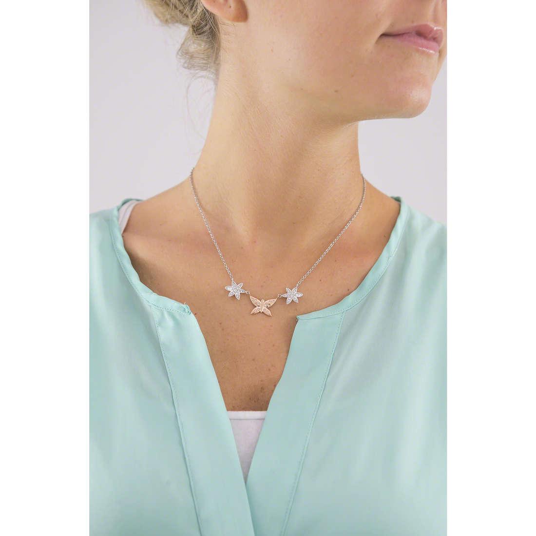 Morellato collane Natura donna SAHL02 indosso