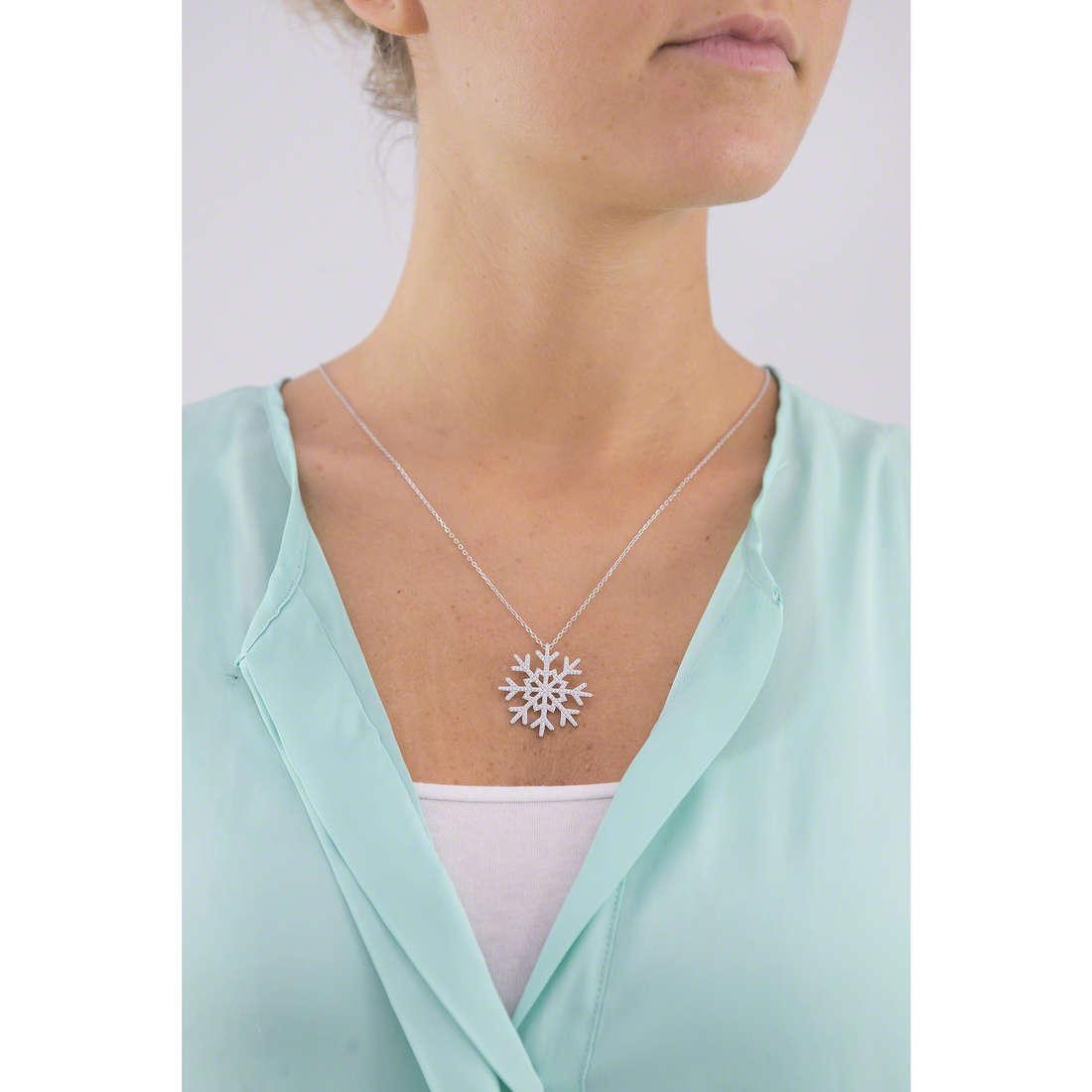 Morellato collane Pura donna SAHK01 indosso