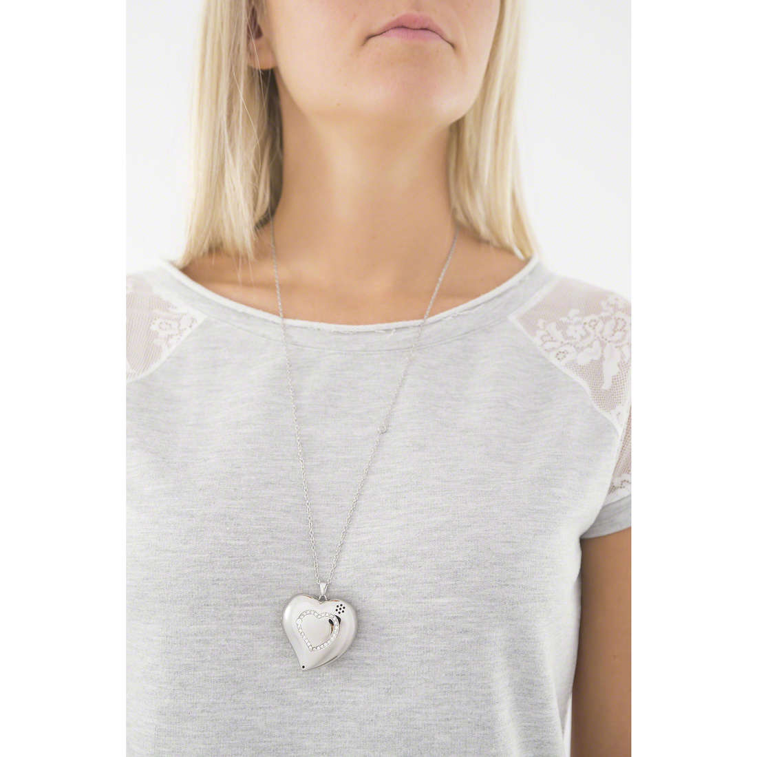 Morellato collane Smart Jewel donna SAEW01 indosso