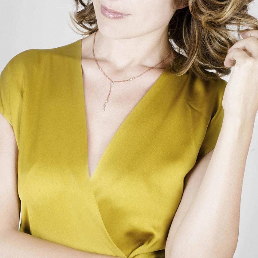 Nomination collane Bella donna 142657/012 indosso