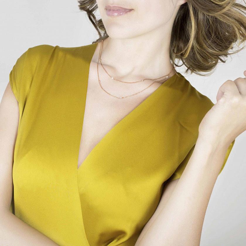 Nomination collane Bella donna 142658/010 indosso