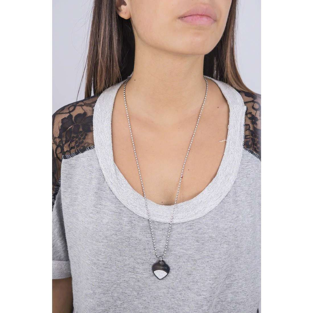 Ops Objects collane Glitter donna OPSCL-353 indosso