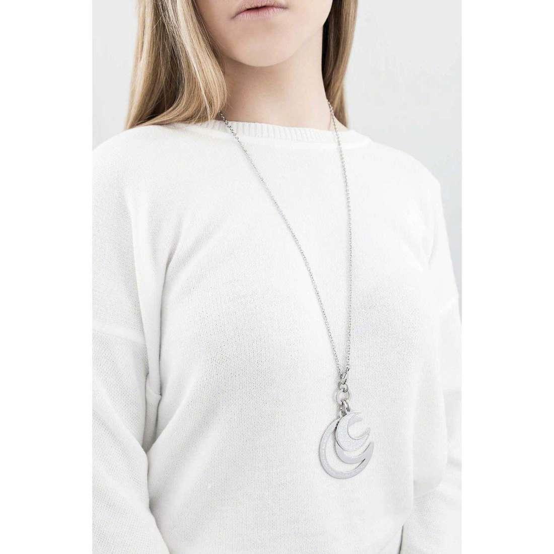 Sagapò collane Moonlight donna SML01 indosso