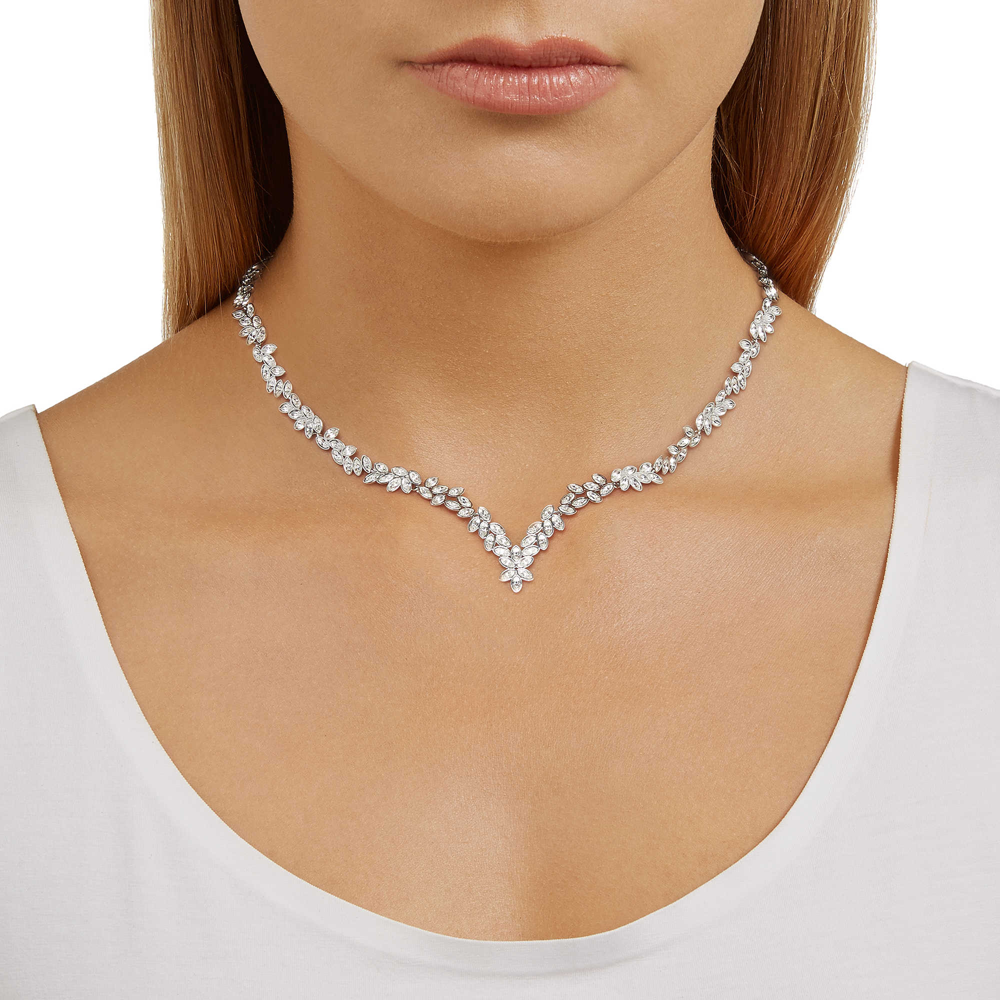 nuovo arrivo 6dfc3 72d5a collana donna gioielli Swarovski Diapason 5184273