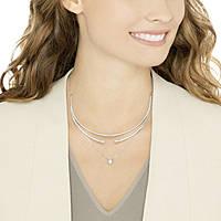 collana donna gioielli Swarovski Gray 5272360
