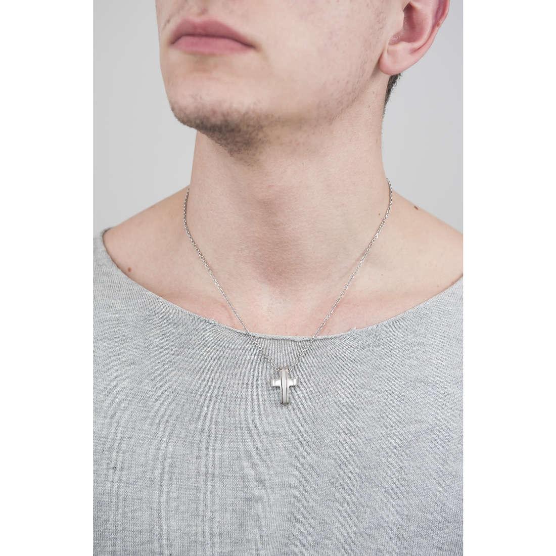 Brosway collane Medieval uomo BMV01 indosso