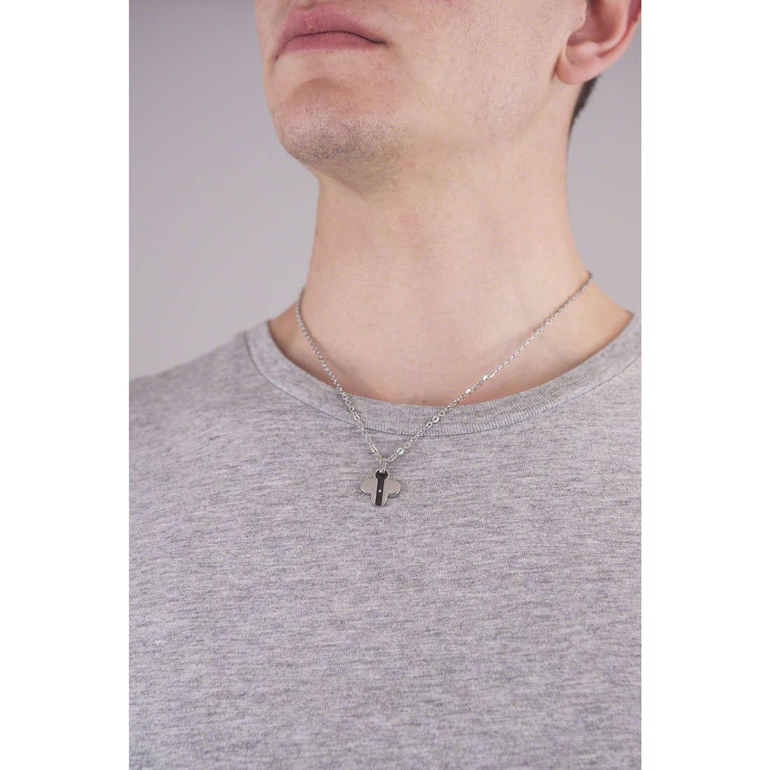 Comete collane Basic uomo UGL 339 indosso