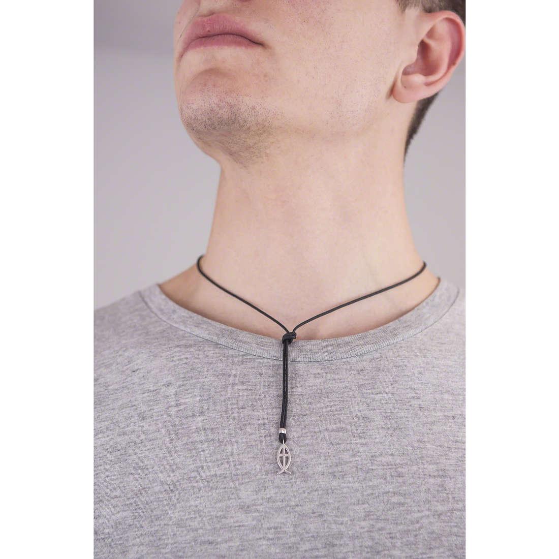Comete collane Holy uomo UGL 494 indosso