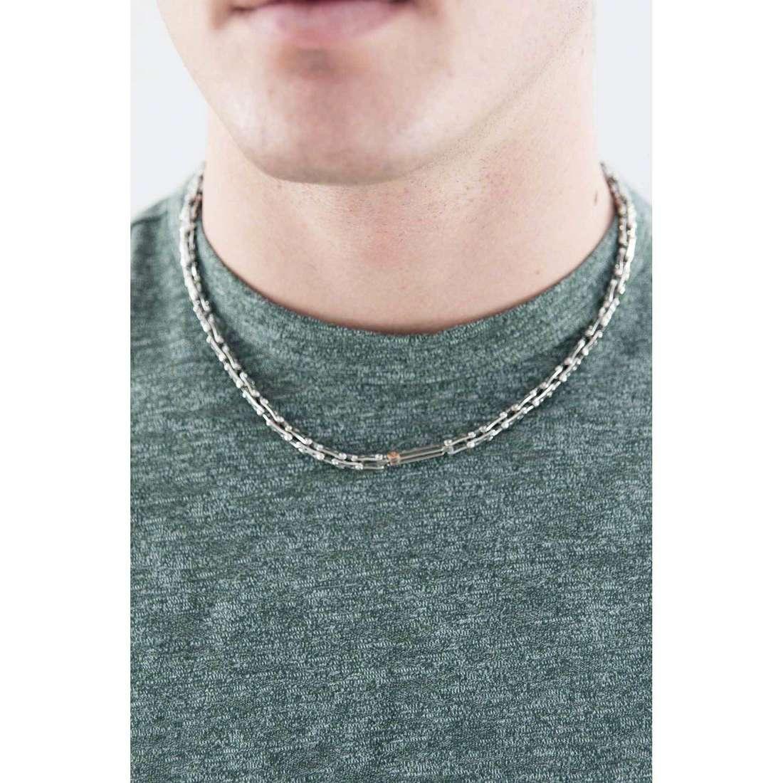 Comete collane Cambio uomo UGL 530 indosso