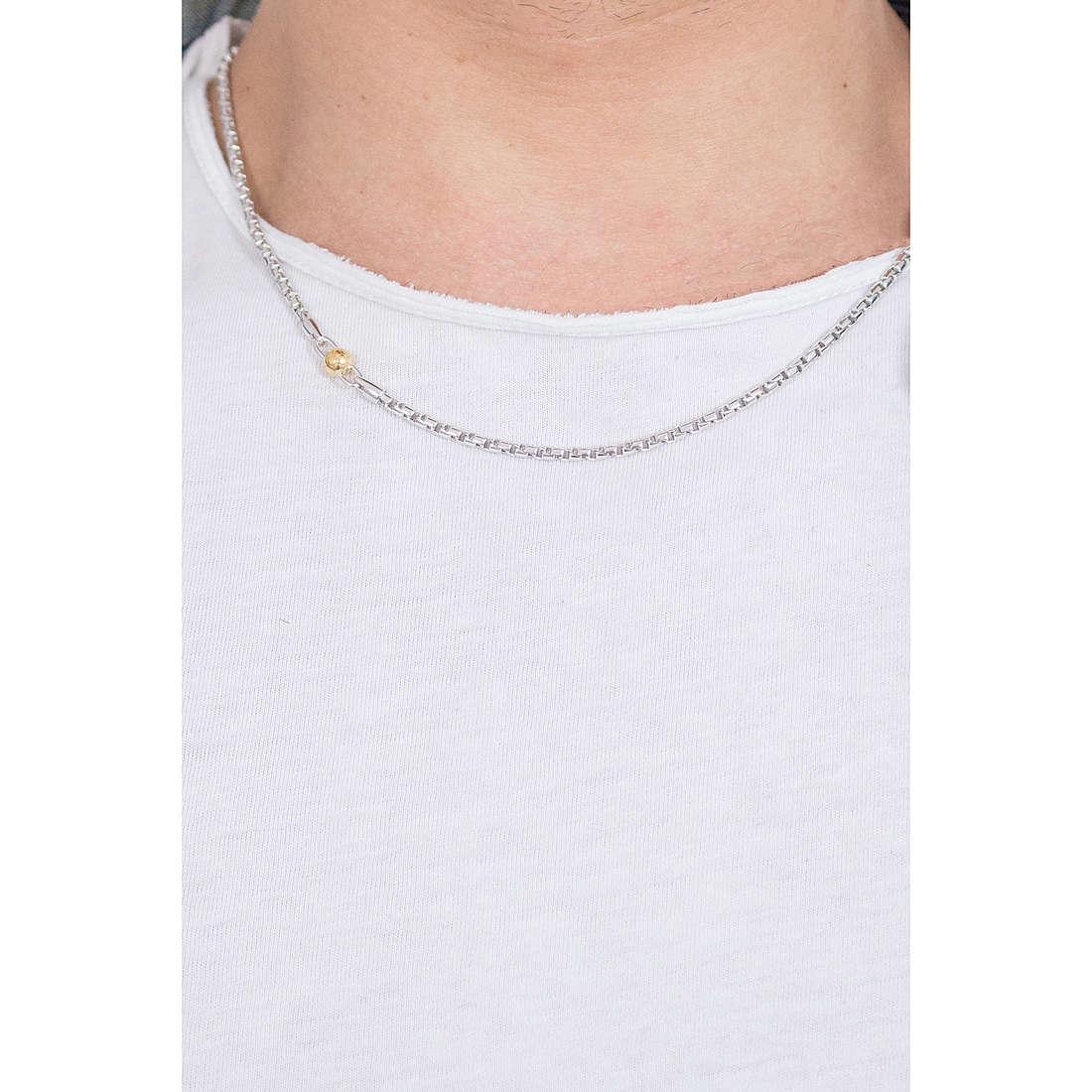 Comete collane Passioni uomo UGL 591 indosso