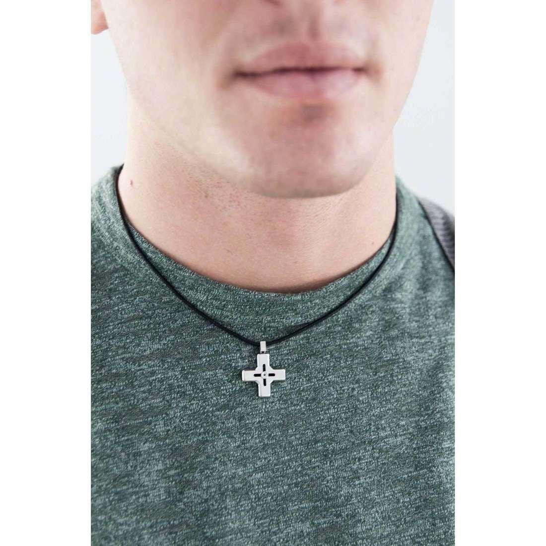 Comete collane Link uomo UGL 492 indosso