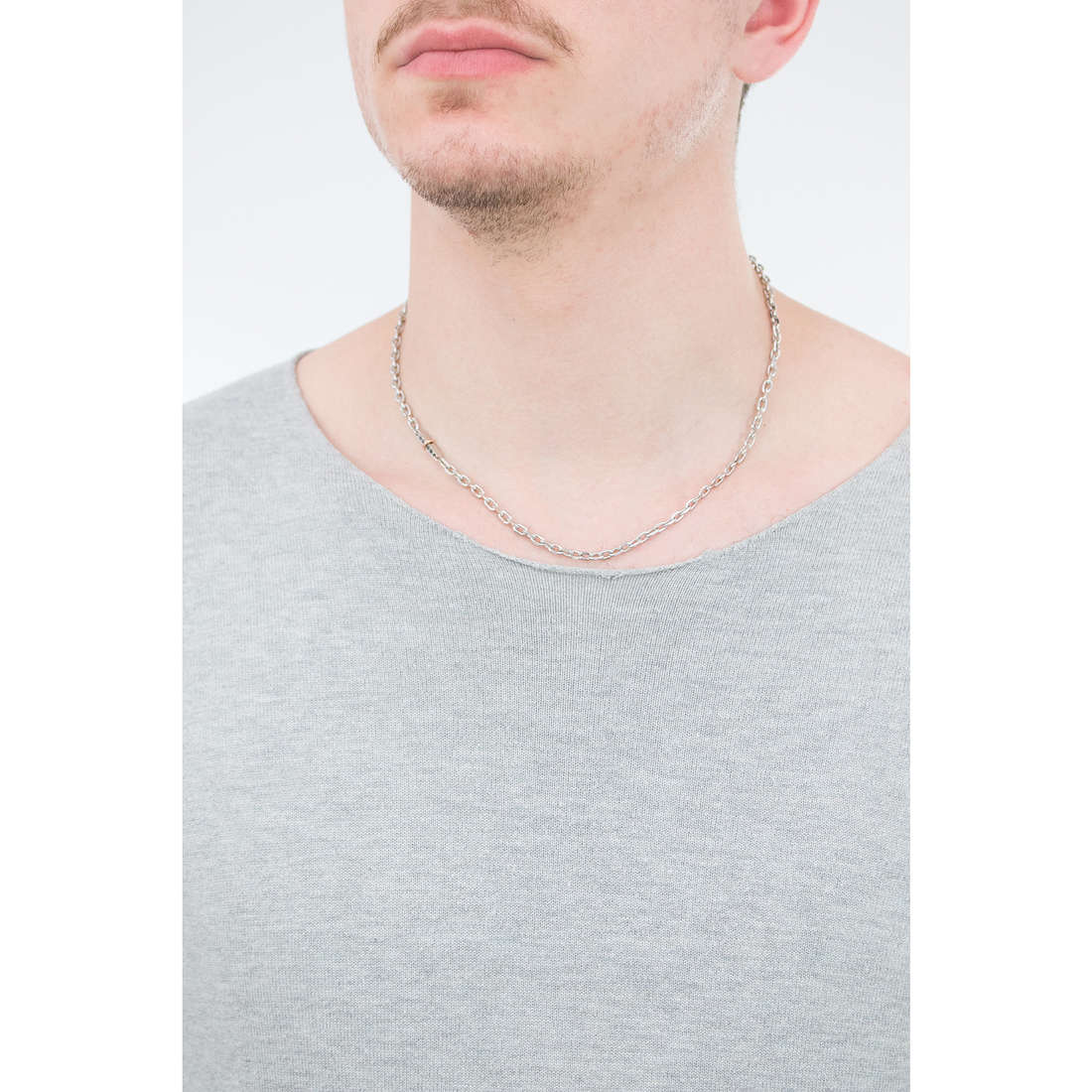 Luca Barra collane uomo LBCL168 indosso