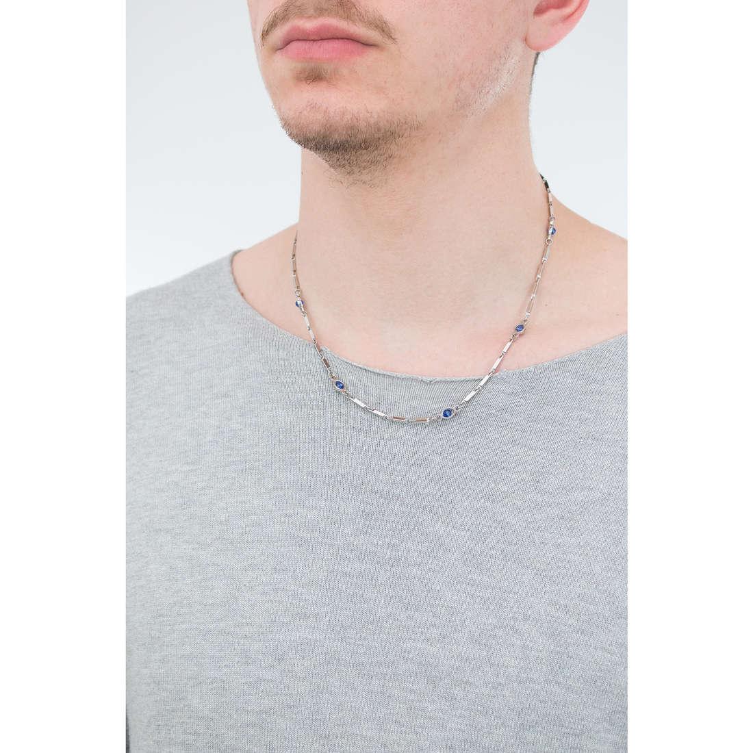 Luca Barra collane uomo LBCL180 indosso