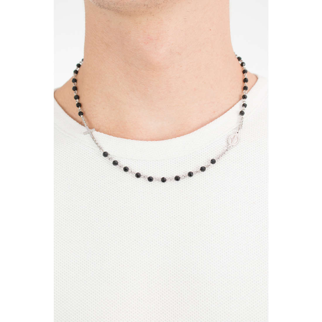 Luca Barra collane uomo LBCL182 indosso
