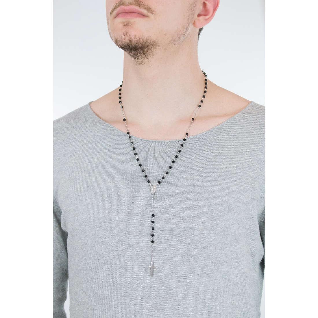 Luca Barra collane uomo LBCL185 indosso