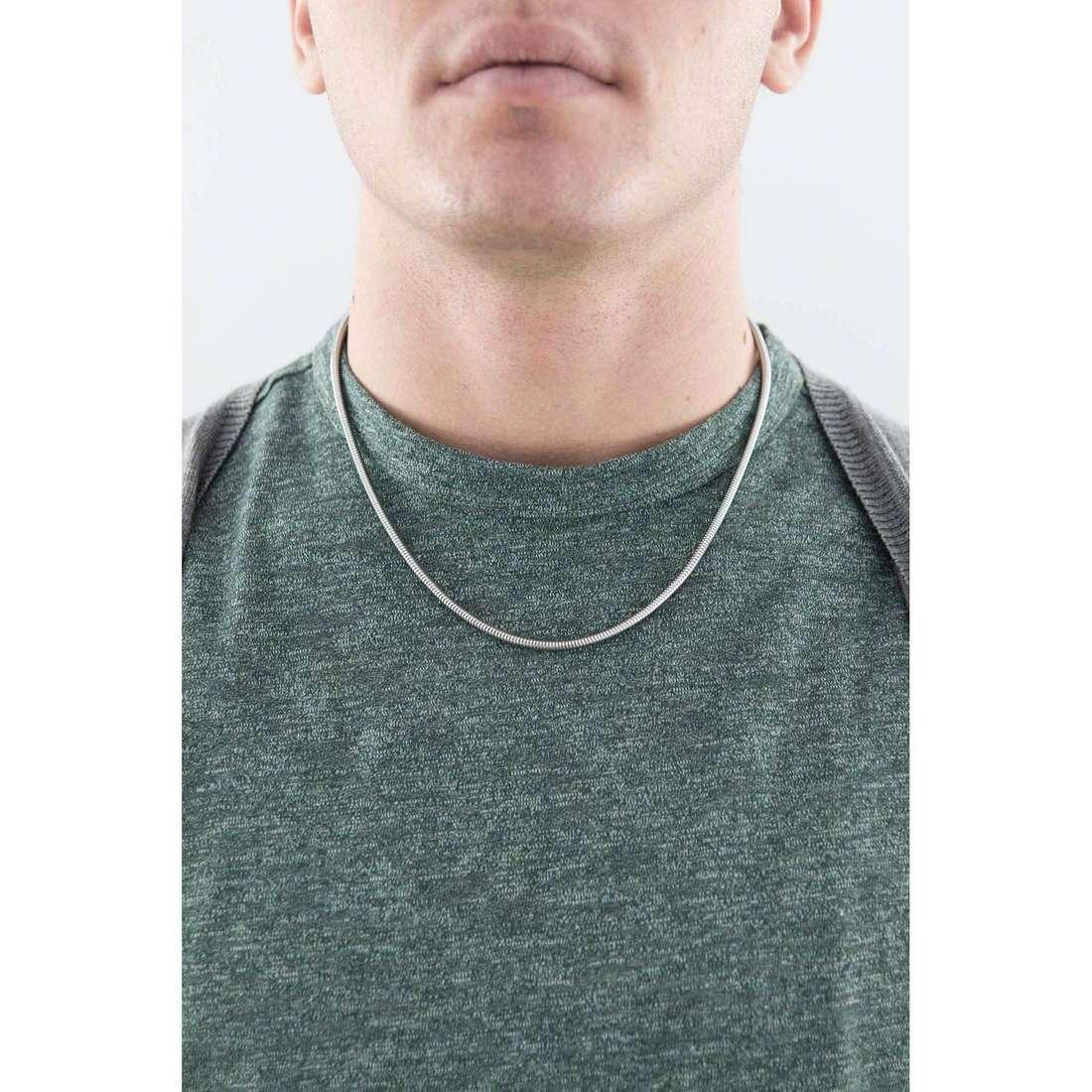 Morellato collane Drops uomo SCZB6 indosso
