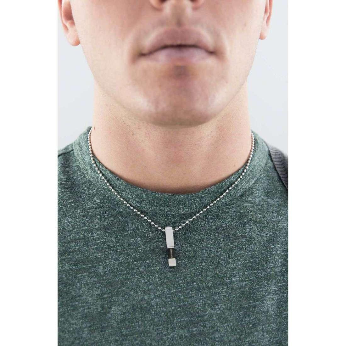 Morellato collane Stile uomo SAGH04 indosso