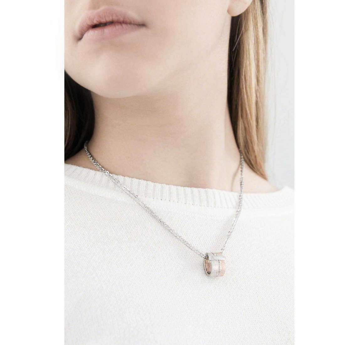 Breil colliers Breilogy femme TJ1431 indosso