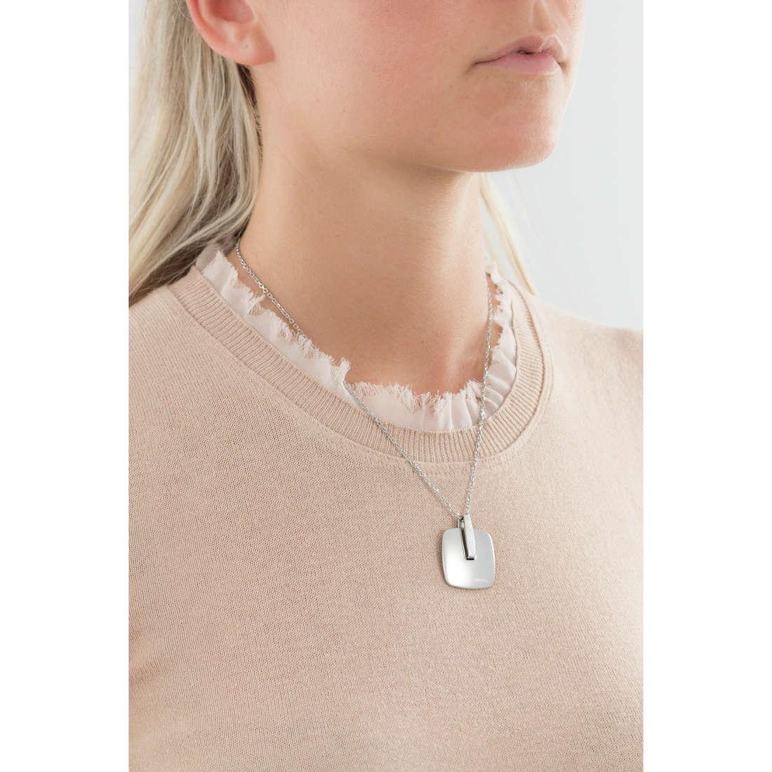 Breil colliers New Blast femme TJ1605 indosso