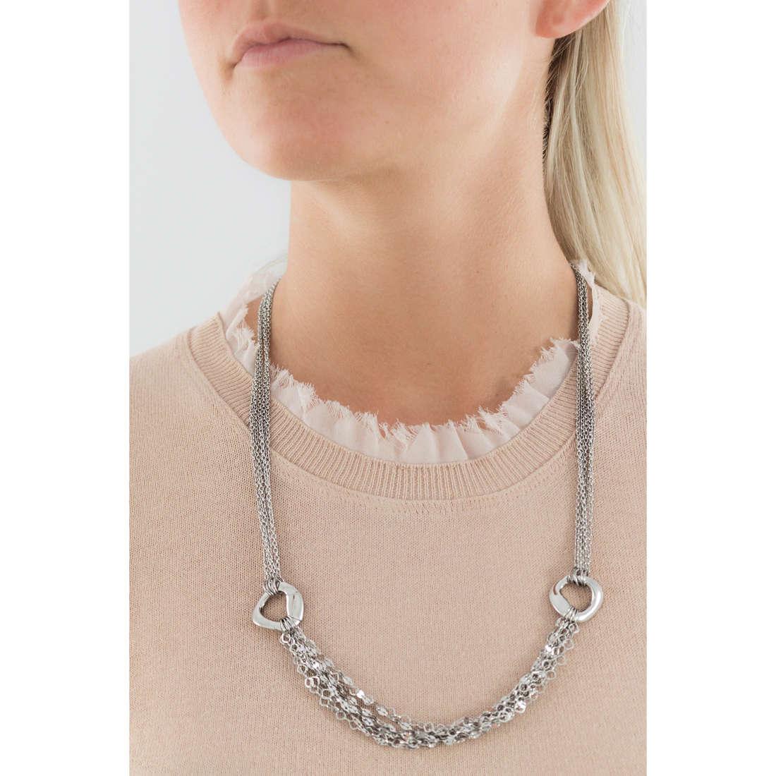 Breil colliers SkyFall femme TJ1412 indosso