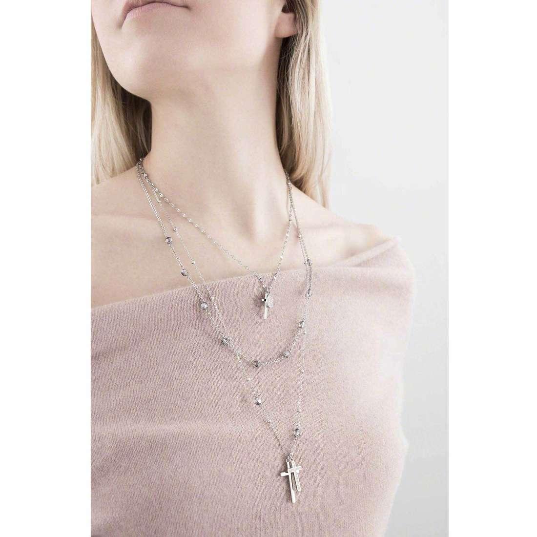 Brosway colliers Dogma femme BDO02 indosso