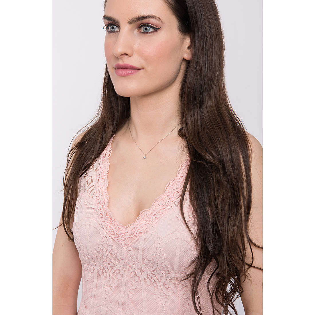 Comete colliers Punti Luce femme GLB 1285 photo wearing