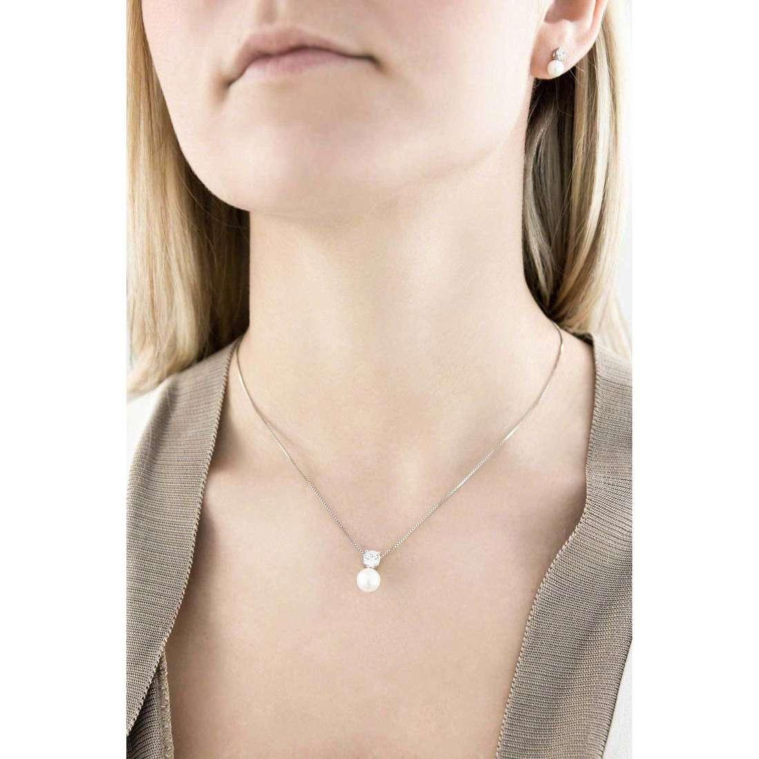 GioiaPura colliers femme 29121-01-00 indosso