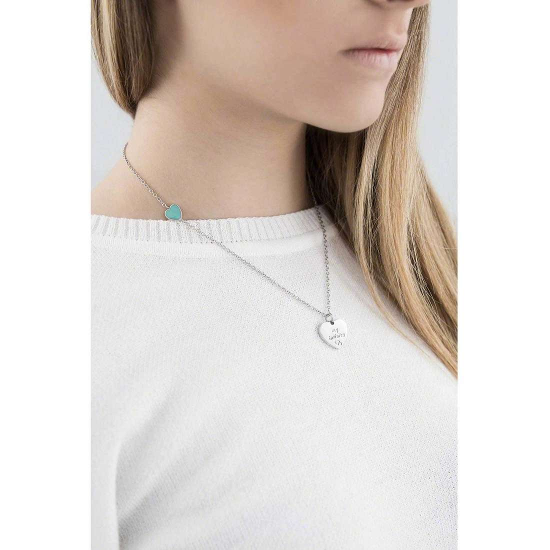 Marlù colliers Trendy femme 18CN023 indosso