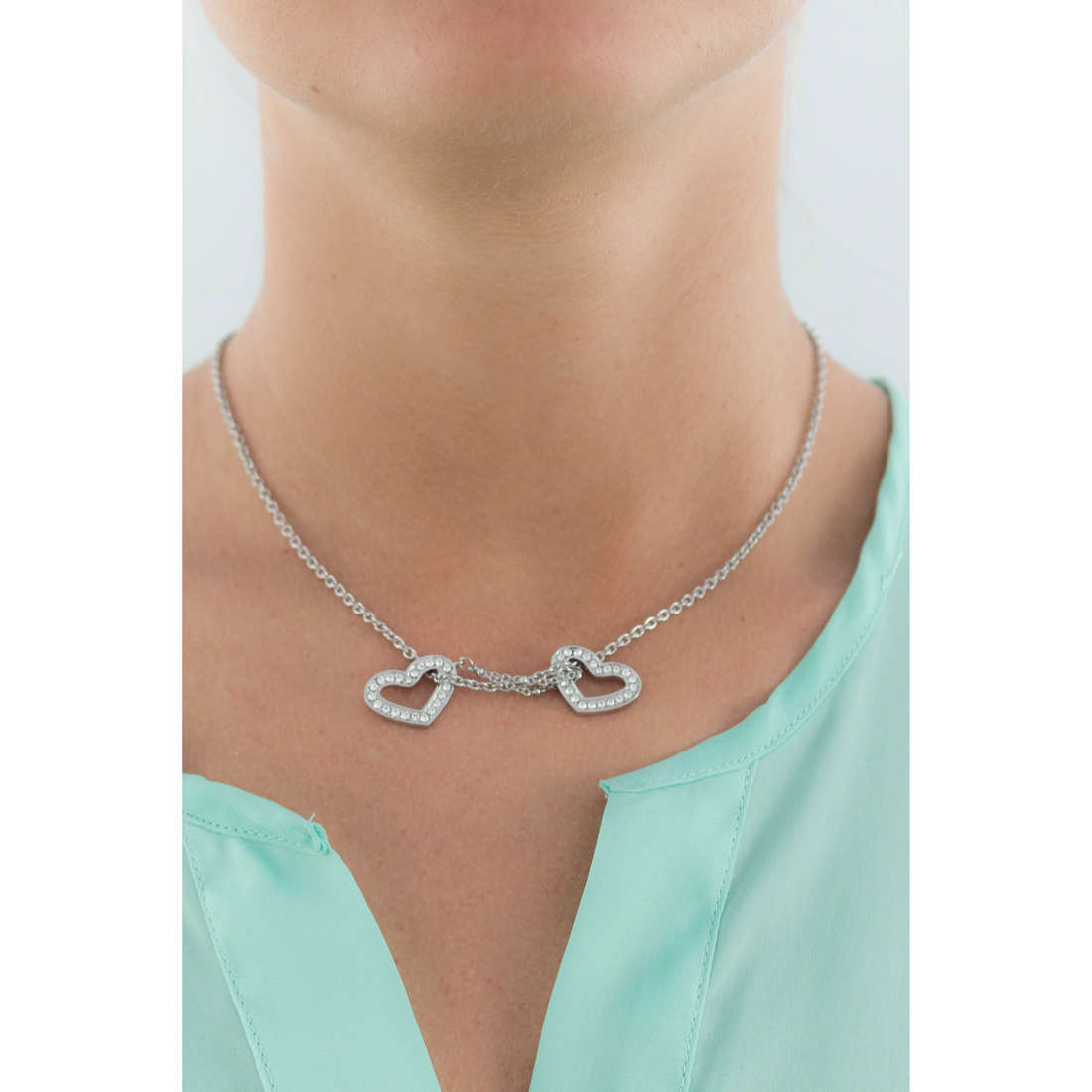 Morellato colliers Abbraccio femme SABG05 indosso