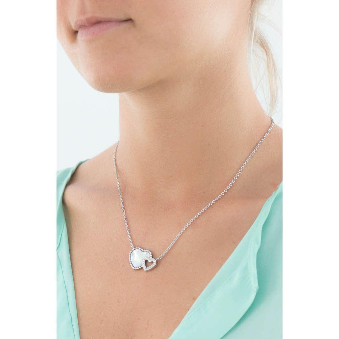 Morellato colliers Sempreinsieme femme SAGF02 indosso