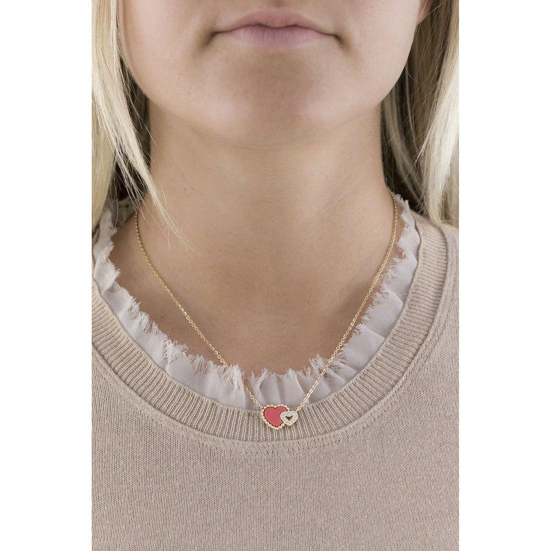 Morellato colliers Sempreinsieme femme SAGF03 indosso