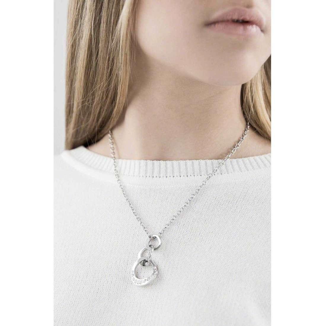 Morellato colliers Senza fine femme SKT01 indosso